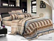 Комплект постельного белья, 2-спальное, креп (жатка)