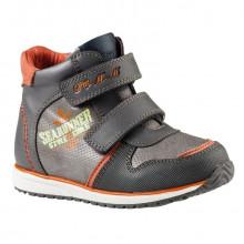 Ботинки  мал. A-B02-72-B р21-26 серый