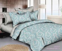 Комплект постельного белья Евро-мини поплин