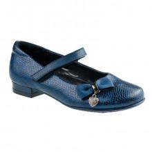 Туфли дев. А-В83-95-С р27-32 т.синий